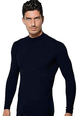 168b0a93f100 DOREANSE Langarmshirt Rollkragen (schwarz)  Amazon.de  Bekleidung