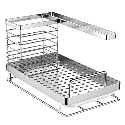 Amazon.com: ODesign Organizador para fregadero organizador ...