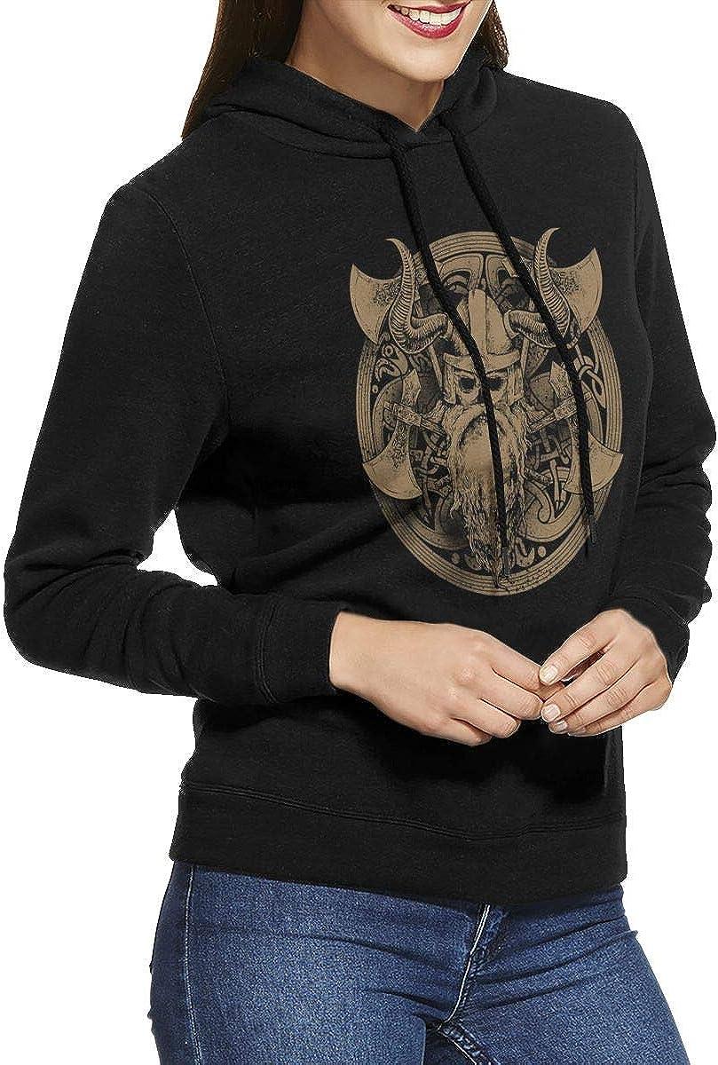 Viking Warrior Pocketless Womens Hoodies