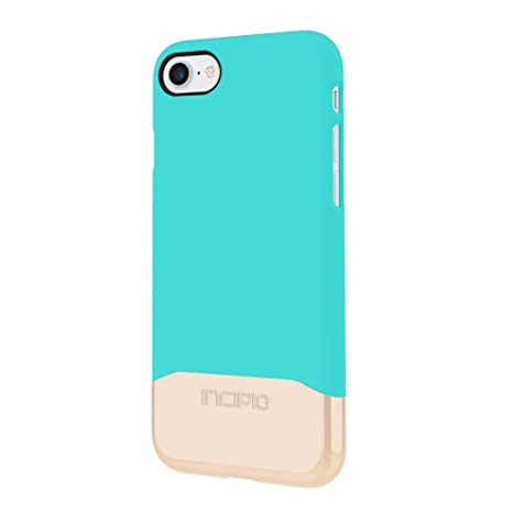 promo code d2107 7417d Incipio Edge Chrome Case Cover for iPhone 7 - Turquoise/Champagne Chrome