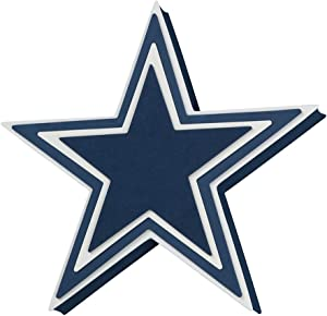 Foam Fanatics NFL Dallas Cowboys 3D Foam Star Wall Sign