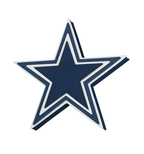 separation shoes ed4ad afcb6 Foam Fanatics NFL Dallas Cowboys 3D Foam Star Wall Sign
