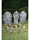 Forum Novelties 12-Piece Cemetery Kit, Multicolored