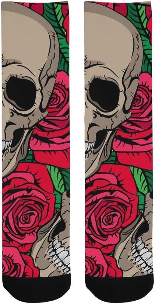 Head Skull Mexico America Style Crazy Dress trouser Sock For Men Women kid