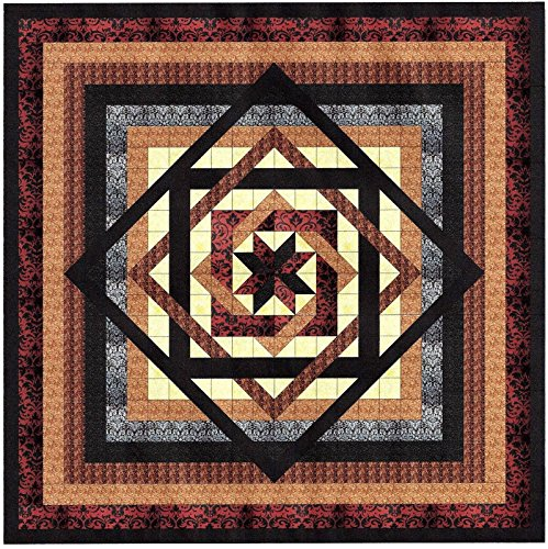 Tumbling Star Nuetral Quilt Kit/QUEEN/EXPEDITED SHIPPING by RJR/Galaxy