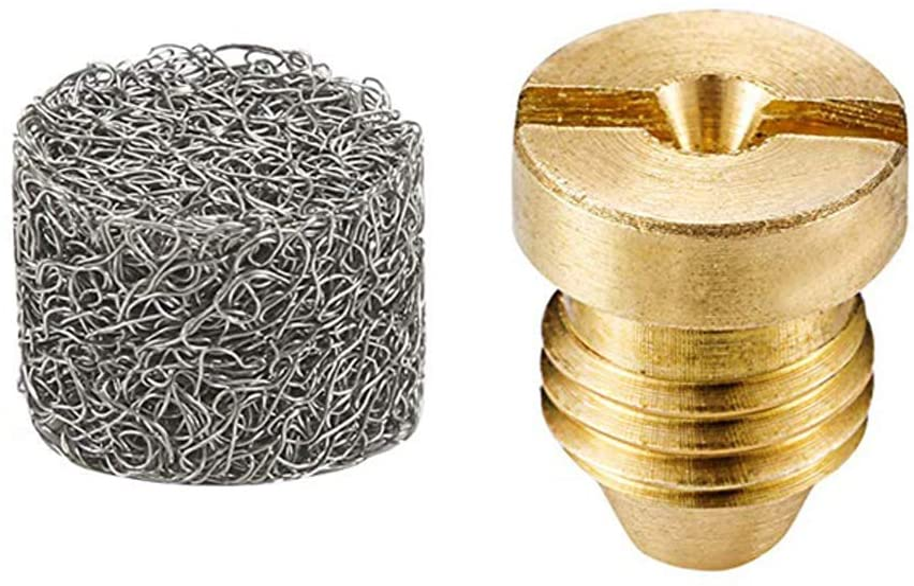 Foam Cannon Orifice Nozzle Tips and Foam Maker Universal 1.1 mm Thread