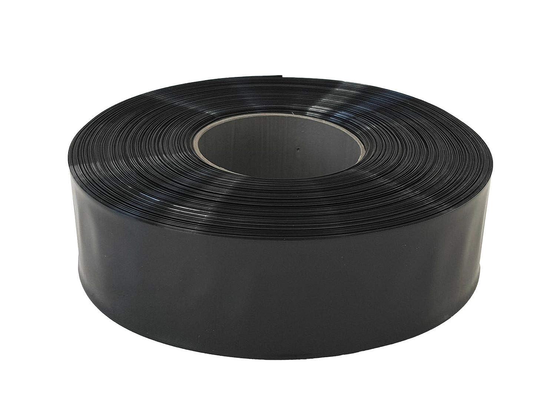 Farbwahl Farbe:Transparent Gr/ö/ße:20 mm 2m Akku Schrumpfschlauch PVC von 20mm bis 200mm Flachma/ß