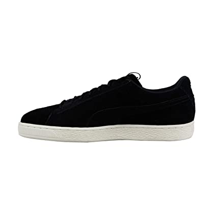 ec1914b6b561c6 ... Puma Suede Classic Fof Mens Black Suede Lace Up Sneakers Shoes 10 ...