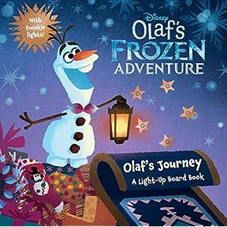 Olafs frozen adventure dvd do it yourselfore olafs frozen adventure olafs journey a light up board book disney olafs frozen solutioingenieria Image collections