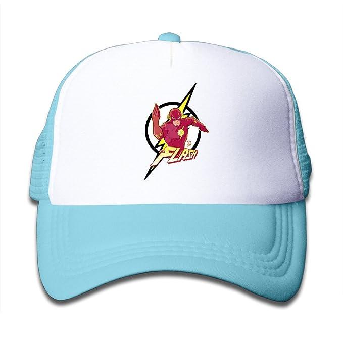 5fafa727aa7 OOERTY Kid s Hats The Flash Superhero Winter Baseball Caps Small Kids Cap