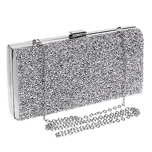 HKC 2 Bag Bag Dinner Evening Ladies Bag Fashion Party Lady's Women's Diamond P0qr1OwPS