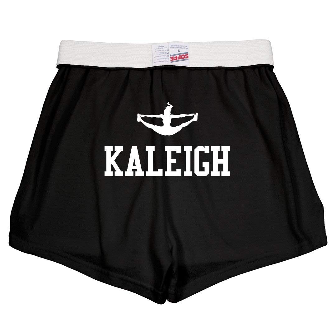 Kaleigh Cute Cheer Practice Youth Soffe Shorts