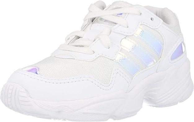 Chapoteo difícil Mismo  Zapatillas Adidas Yung-96 Blanco Niño y Niña: Amazon.es: Deportes y aire  libre