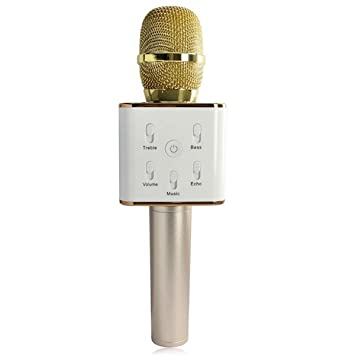 88f0811cf50 AHSSZ Q7 Wireless Karaoke Microphone