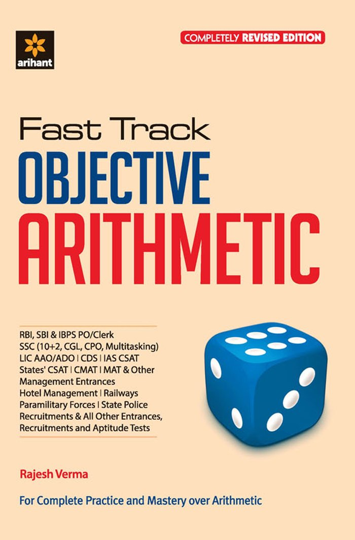 Buy Fast Track Objective Arithmetic Book Online at Low