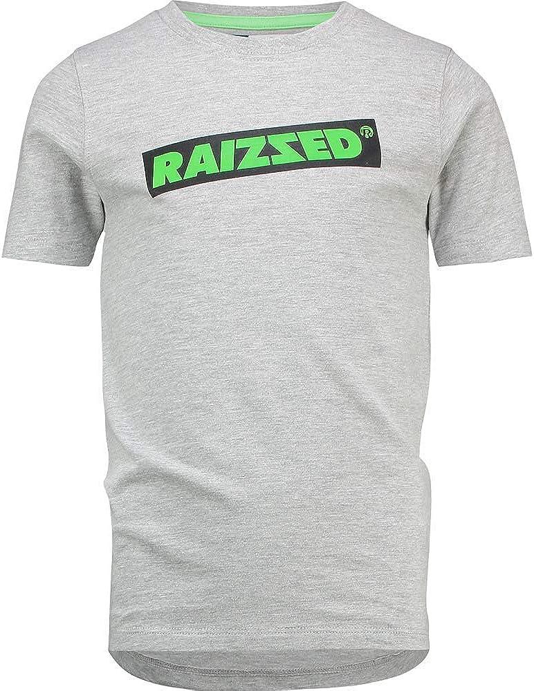 Raizzed Niños Niño Camiseta Hudson Gris Claro Melee: Amazon.es: Ropa y accesorios