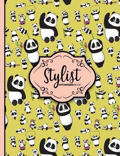 Download Stylist Appointment Book: 4 Columns Appointment Pad, Cute Appointment Books, Undated Appointment Book, Cute Panda Cover (Volume 56) pdf