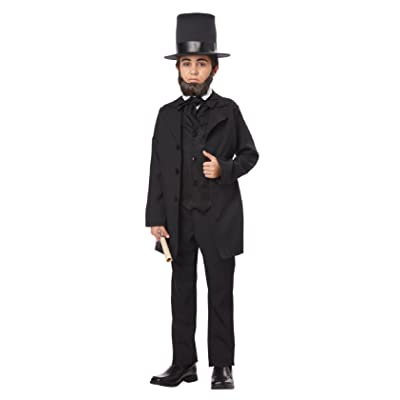 California Costumes Abraham Lincoln/Andrew Jackson Child Costume, Large: Toys & Games