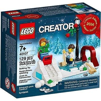 Lego Holiday Winter Skating Scene 40107: Home & Kitchen