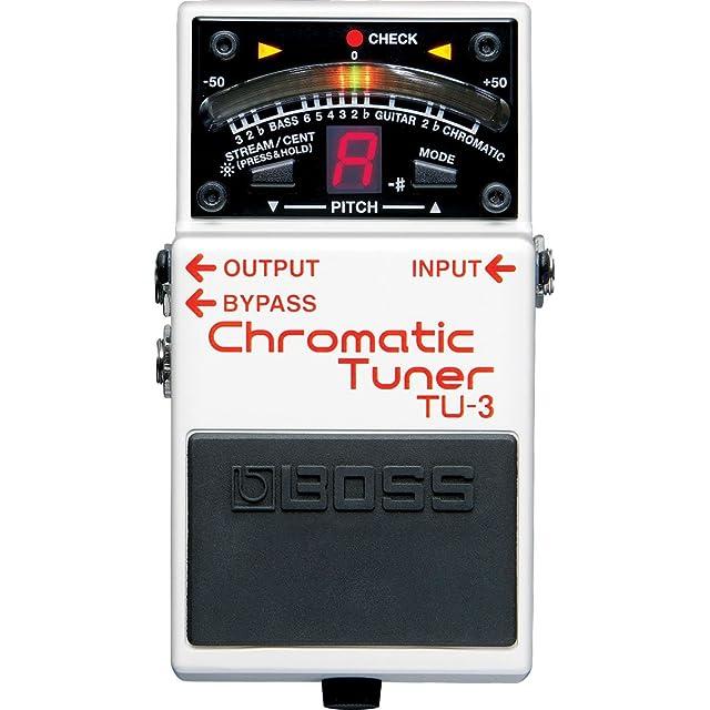 リンク:TU-3 Chromatic Tuner