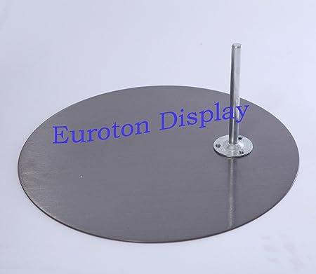Standplatten Glasplatte für Schaufensterpuppen