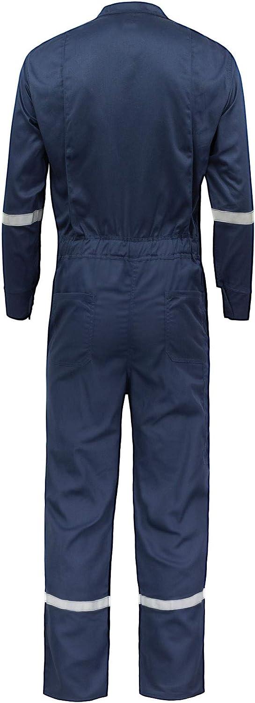 Kolossus Defense Flame Resistant 7oz Cotton//Polyamide Twill Coverall