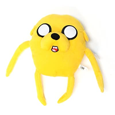 "Adventure Time Jake 17"" Plush: Toys & Games"