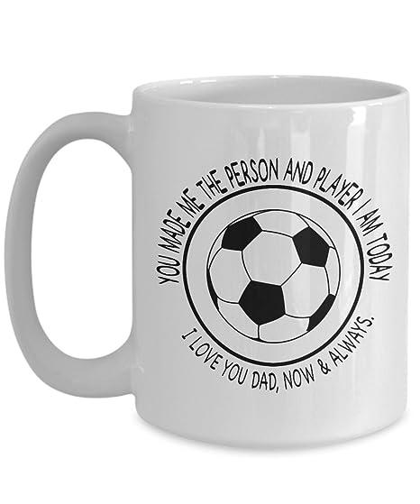 Amazoncom Soccer Dad Mug I Love You Large Father