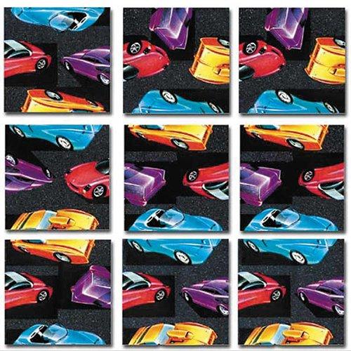 Dazzle Scramble Square Puzzles - B.Dazzle Scramble Squares: Retro-Rods