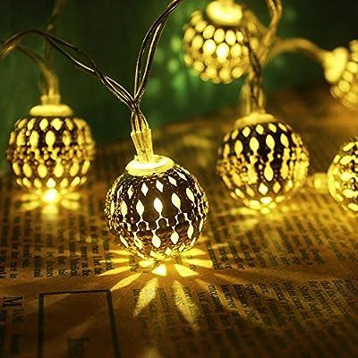 Battery Moroccan String Light