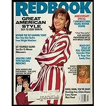 Redbook, March 1991 - Kate Jackson, Jane Fonda, Mark Harmon - Pam Dawber