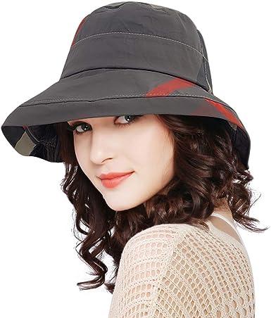 DOCILA Wide Brim Bucket Hat for Womens Waterproof Rain Hats Packable  Fishing Camping Golf Sun Visor Caps (Darkgrey) at Amazon Women's Clothing  store