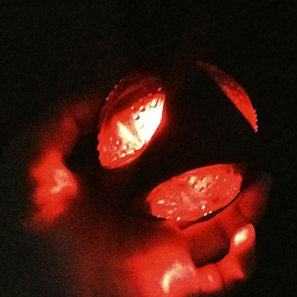 WINNERUS 1/pezzi Cuccioli Training prodotto masticare giocattoli di gomma alla fine di illuminazione Sounder ELAS il giocattolo a sfera LED Palla di animali da compagnia