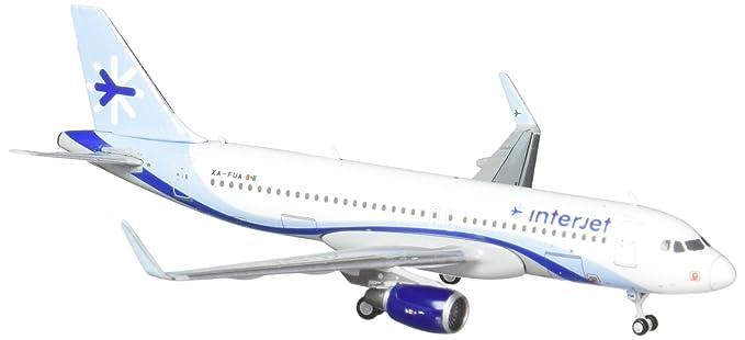 Gemini Jets Interjet A320 Airplane Model (1:400 Scale)