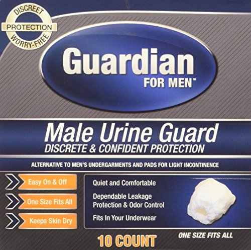 Guardian for Men, Male Urine Guard, 10ct
