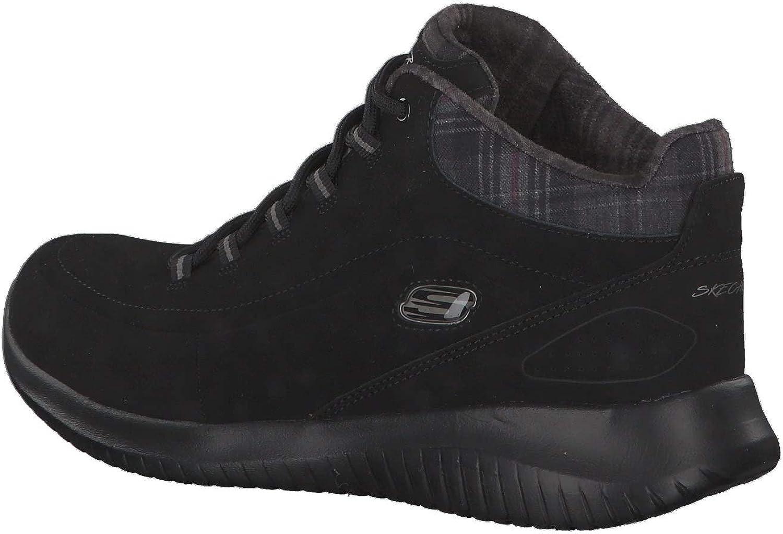 black SKECHERS Sneaker Ultra Flex JUST CHILL 12918
