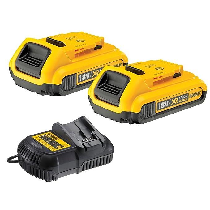 Dewalt DCB183 XR 18 V batería de litio unidades DCB105 ...