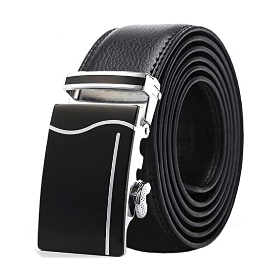 Heqianqian Cinturones de Hombre Cinturón de Hombre Cinturón Casual ...