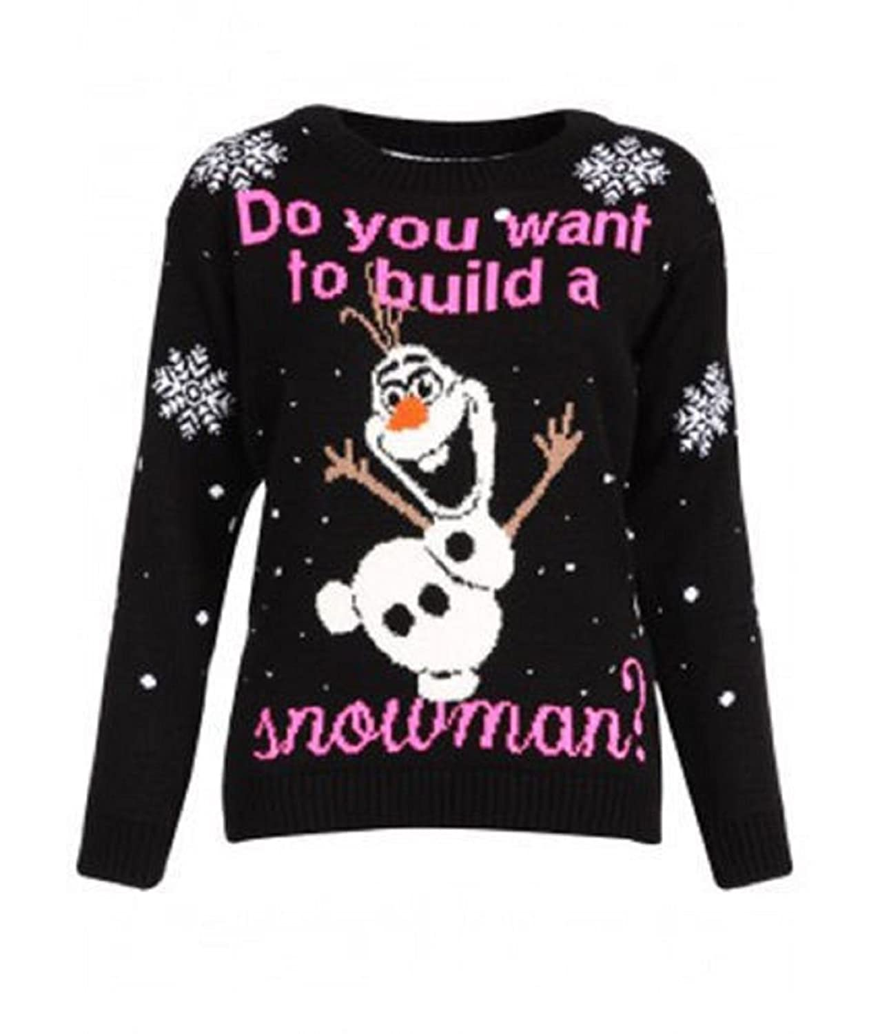 Do You Want To Build Snowman Olaf Frozen Christmas Jumper Sweater ...