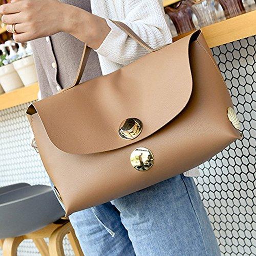 De Grande Bag Salvaje Bolsa Fashion Moda Verano Manera Nueva Femenino Del Viajero Bolso Portátil Lf La BzSW8Y
