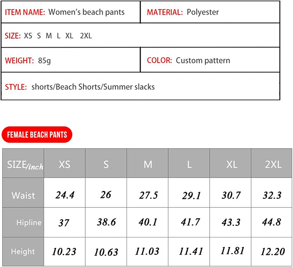 Leaves Showudesigns Womens Swim Boardshorts Tankini Sport Board Shorts with Pockets Beach Bottom Swimsuit Plus Size XL