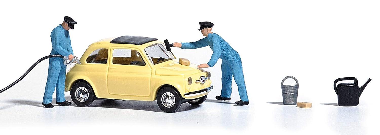 marchi riconosciuti San Francisco sconto più votato Busch B7820 - Scala 1/87 - Fiat 500 con benzinai - Accessori ...