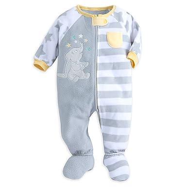 Amazon Com Disney Dumbo Blanket Sleeper For Baby Size 18 24 Mo Gray