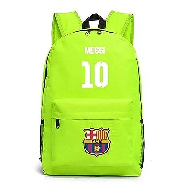 Amazon.com: Mochila para niños de regreso a la escuela Messi ...