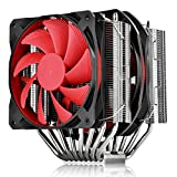 DEEPCOOL CPU Cooler ASSASSIN II, 8 Heatpipes, 120mm and 140mm Fans, Nickel-plated Twin-tower Heatsink, Highly-polished Copper Base, AM4 Compatible, 3-year Warranty