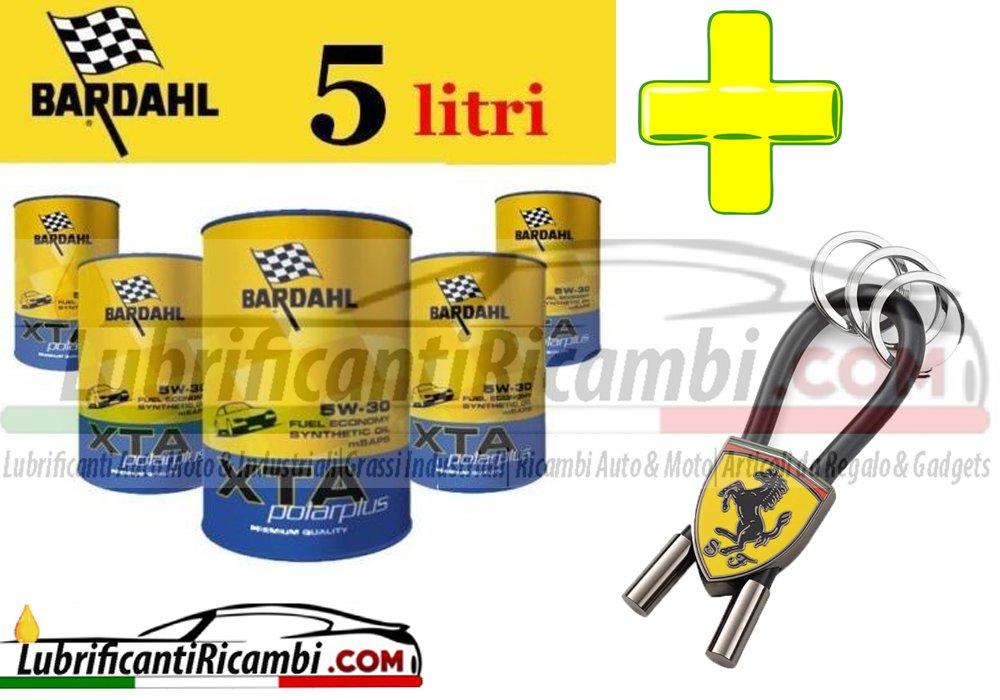 Oferta 5 litros-Aceite de motor 5w30 coche Bardahl XTA PolarPlus-100% sintético-C2/A5/B5 FORD RENAULT-Llavero oficial de escudería Ferrari: Amazon.es: Coche ...