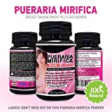 natural pueraria mirifica daily 1000mg capsules - breast enhancement pills for women - breast enlarger, vaginal health, menopause relief, skin & hair health 60 vegetarian capsules - 611jlgMXnrL - Natural Pueraria Mirifica Daily 1000mg Capsules – Breast Enhancement Pills For Women – Breast Enlarger, Vaginal Health, Menopause Relief, Skin & Hair Health 60 Vegetarian Capsules