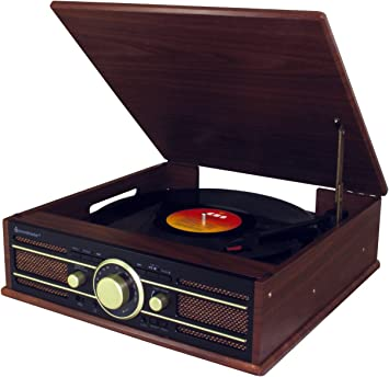 Amazon.com: Soundmaster ClassicLine pl550br Retro FM Radio ...