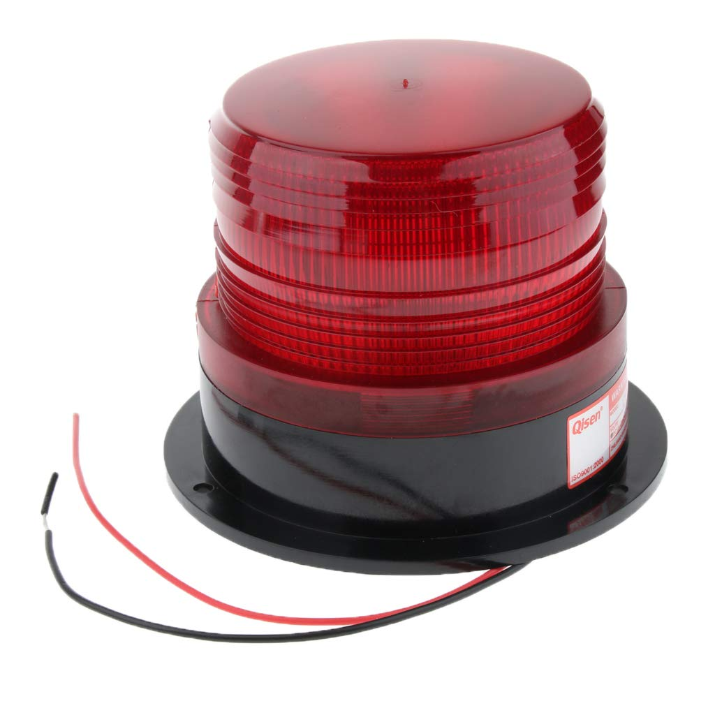 Orange B Blesiya Flexible LED Warning Emergency Flash Strobe Rotating Beacon Light Motor