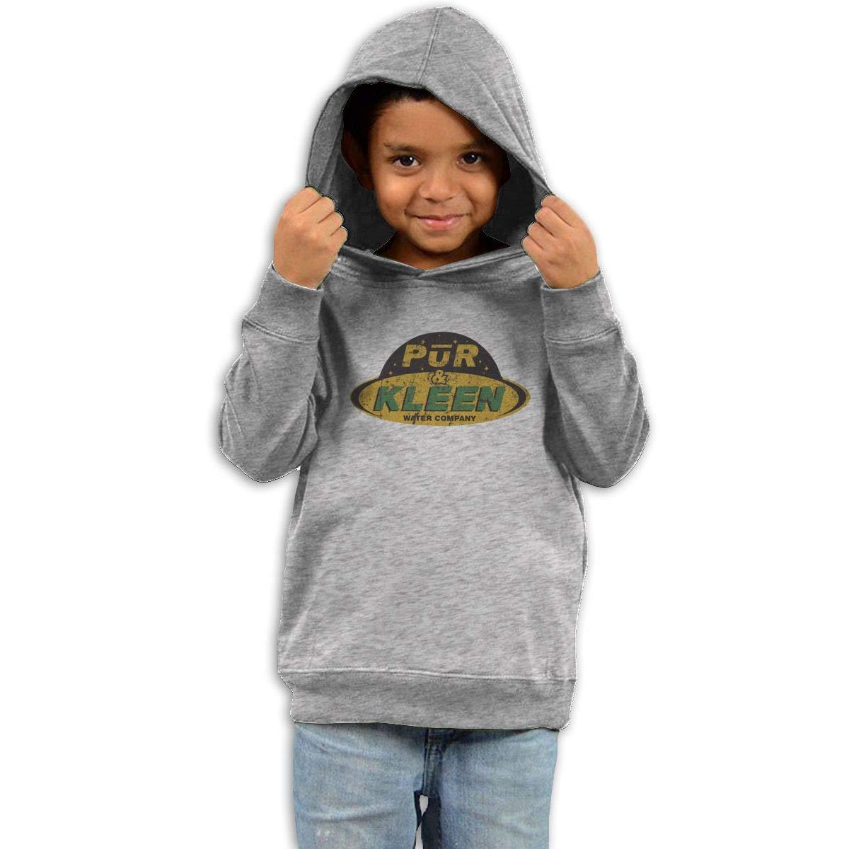 Stacy J. Payne Boys Pur N Kleen Particular Hoodies41 Gray